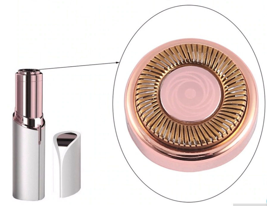 Hair remover FLAWLESS 18K gold plated Razor from Face