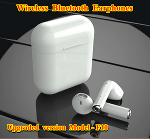 Mini Bluetooth Wireless Earphones Headphones IFANS gadgets for ios / android system universal - Model F10 TWS