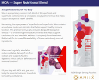 MOA Super Nutritional Blend 36 Superfoods Nourish Your Body/health