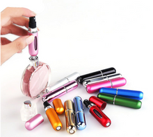 Perfume Bottle Beauty Refillable mini aluminum portable with Spray Atomizer For Traveler-Model : NM 8111952