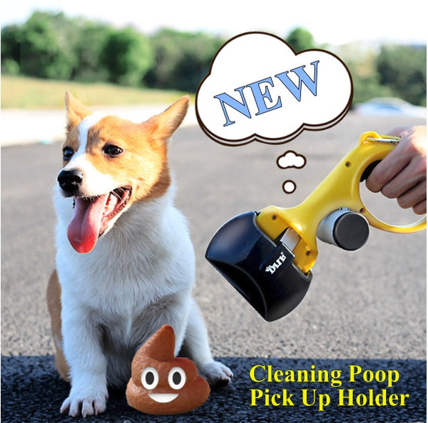 Dog Cleaning Poop Shit Pickup Remover Holder Portable Pooper Bags gadgets  Model #: HS-8874