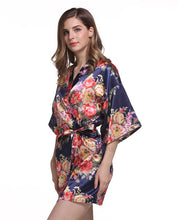 Silk Satin Kimono Short Wedding Women Lingerie