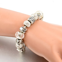 Bangle Bracelets Silver Plated Handmade Owl Charm model  SBR160084