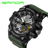 Military Sport Men Watch Electronic LED Digital Wrist Watches Model-SD038