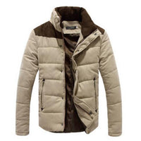 Winter Men Coat Warm Thick, ‎Parkas Fashion Thermal Solid Casual ‎