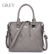 Women bags Famous Brands Luxury Handbags  Designer PU Leather Stitching Cross body ZMQN
