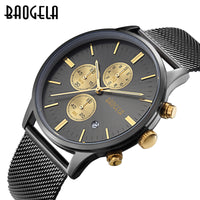 Men Watch - London Special Edition Brand Luxury Mechanical  Chronograph Watch, Quartz