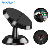 RAXFLY Magnetic Stand Car Holder For iPhone X 8 7 Plus Universal Car Phone Holder 360 Rotation Magnet Support For Samsung Xiaomi