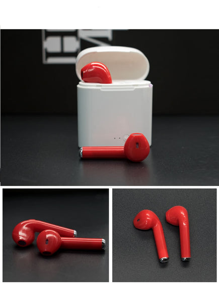 Mini Bluetooth Earphone Wireless Earbuds Gadgets With Charging Box Sports headset For Iphone X Samsung S9 S9 Plus Xiaomi Huawei