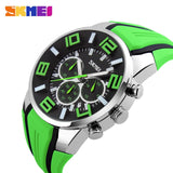 Men Sport Watch Chronograph Strap Silcon Model - XK9128 SKMEI