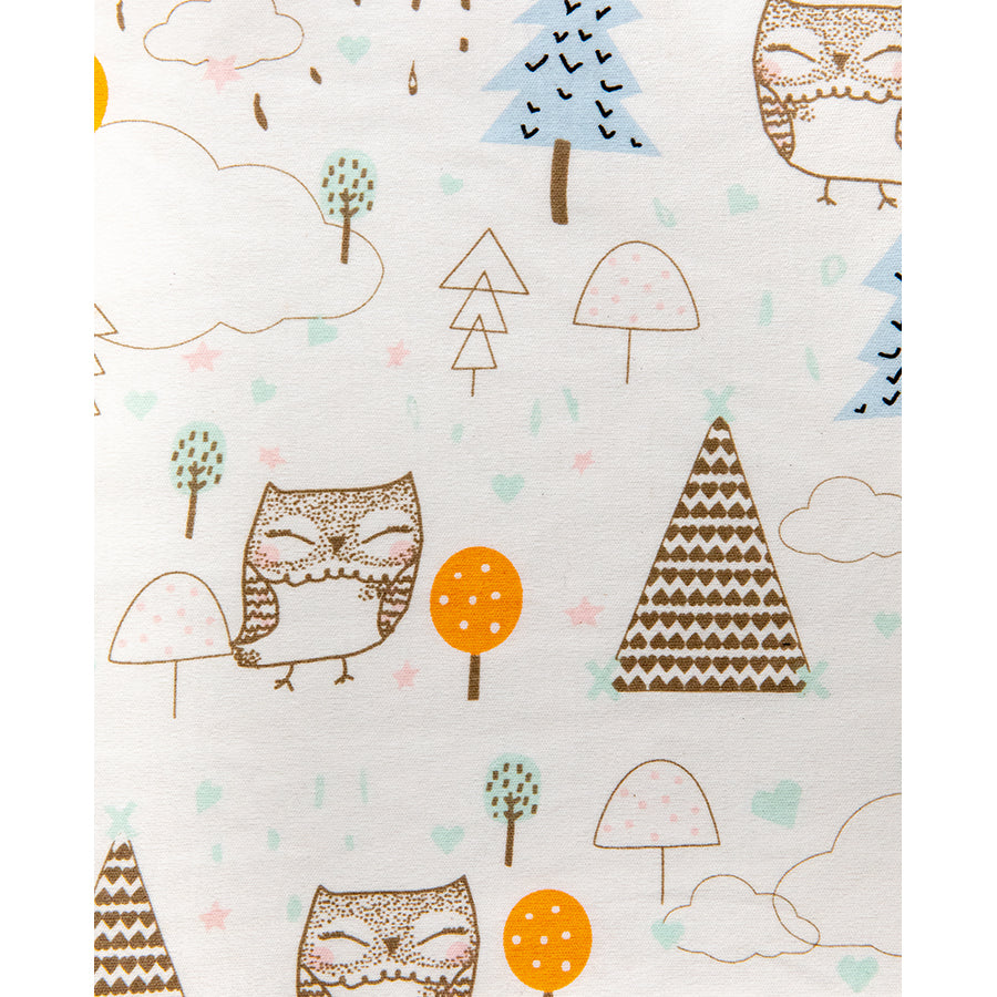 Owl Fabric Swatch