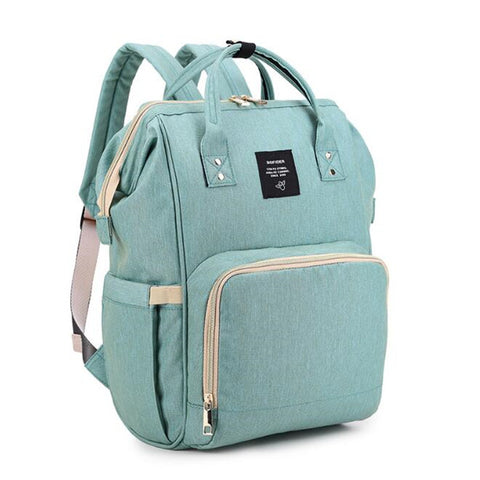 Green Diaper Feeding Bag Backpack Handbag
