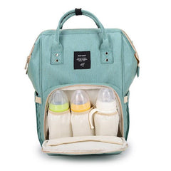 Image of Large Capacity Travel Diaper Bag Backpack