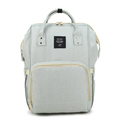 Large Capacity Travel Backpack Diaper Bag in various colours