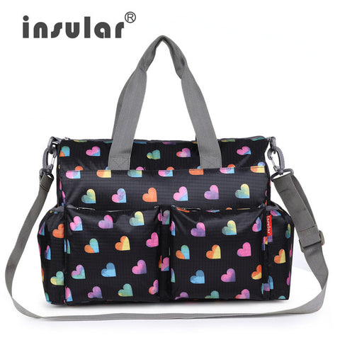 Diaper Baby Feeding Bag Handbag Tote Hobo Backpack