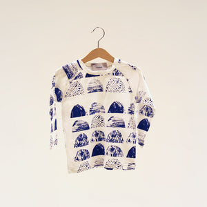 Blue Mountain AOP Long Sleeve Shirt