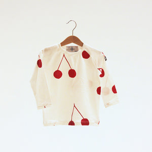 Cherries AOP Long Sleeve Shirt