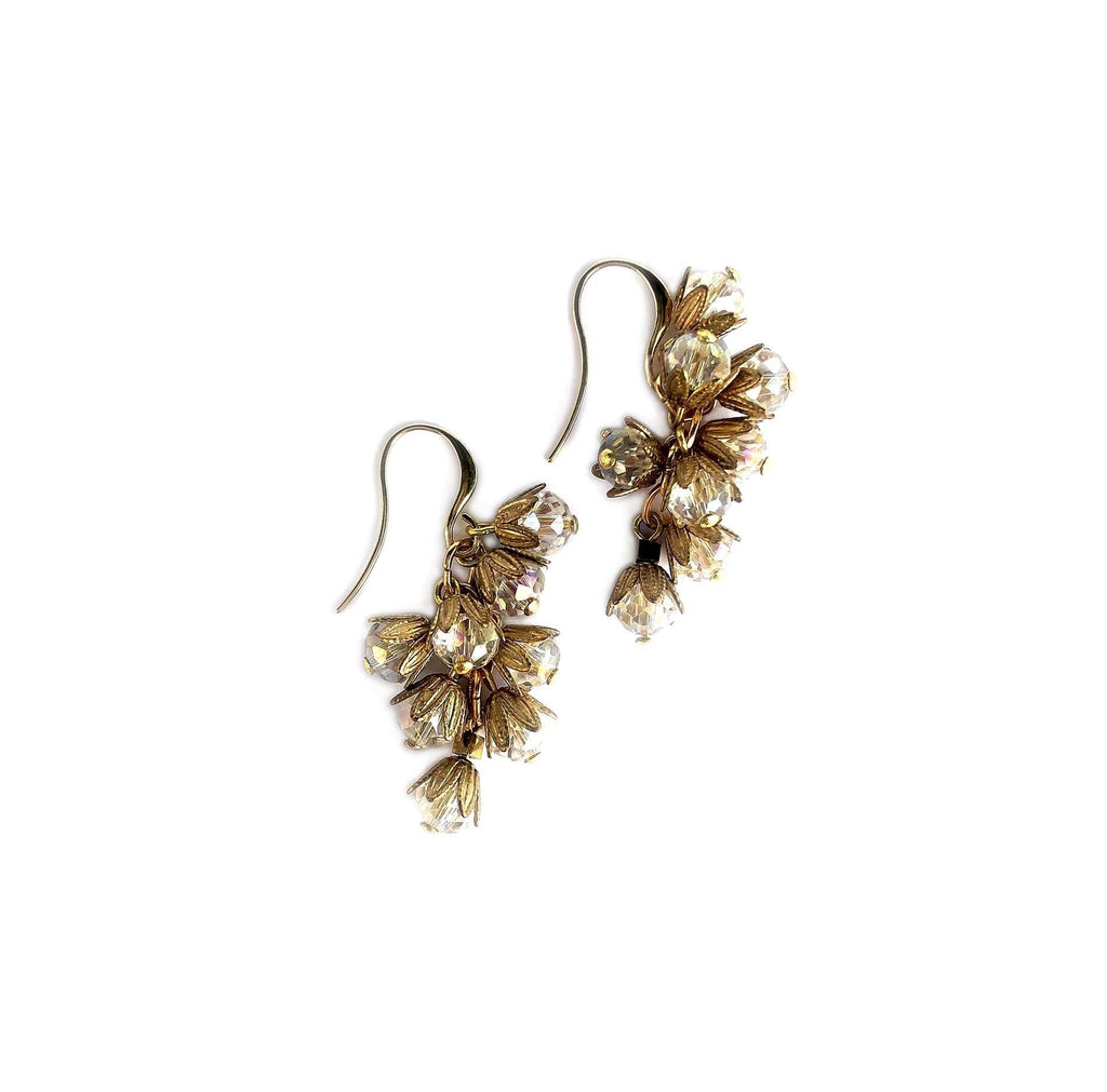 Small Mil-Flores Earrings transparent - MIMI SCHOLER