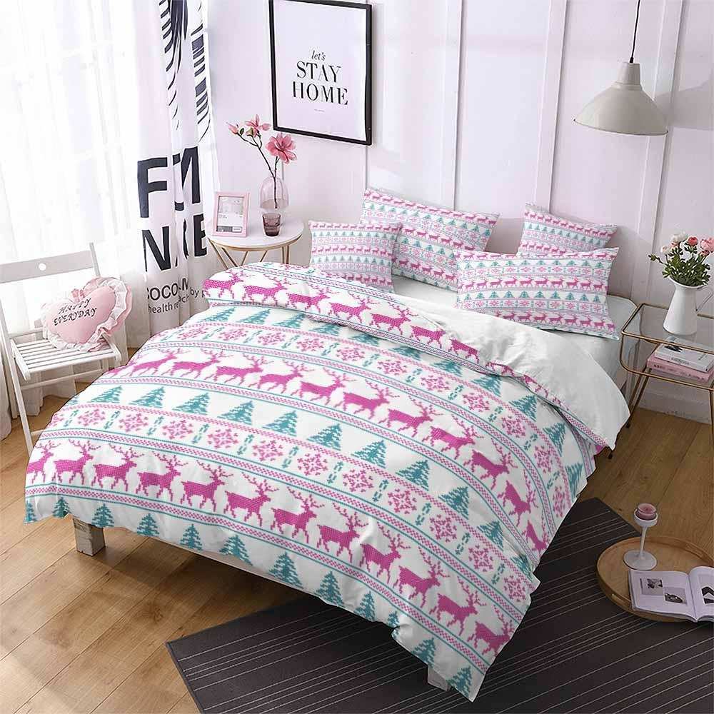 2019 Home Decor Design Bedding Christmas Theme Set Bedspread (2259421167667)