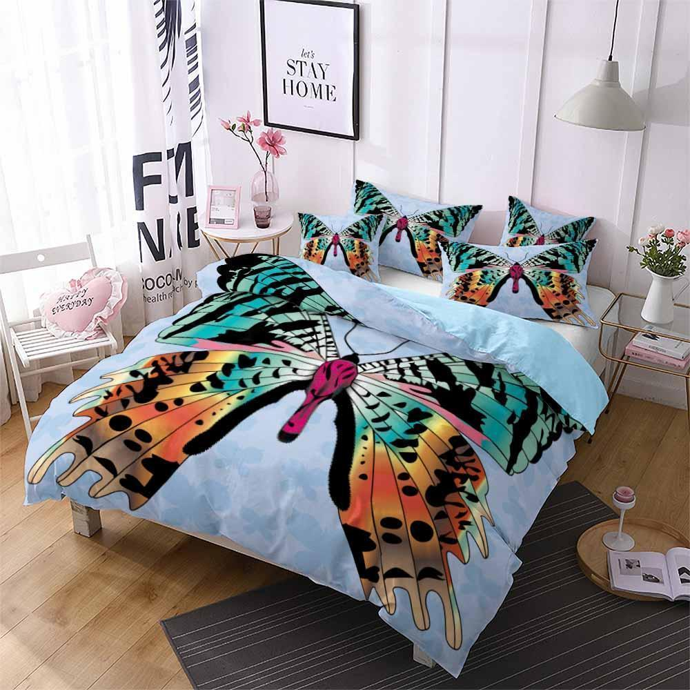 2019 New Design Butterfly Theme Bedding Sets Comforter Bohe (2258575917107)