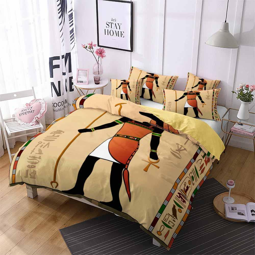 2019 New Design Egypt Theme Bedding Sets Comforter Sets (2258676744243)