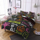 2019 New Design Halloween Theme Bedding Sets Comforter Bohe (2252091424819)