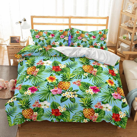3D Art Pattern Pineapple Printed 6 Bedding Sets/duvet cover set-Mr Koala