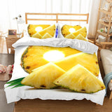 3D Art Pattern Pineapple Printed Bedding Sets/Duvet Cover Set-Kitkae-Kitkae-Koalabedding (424371322917)