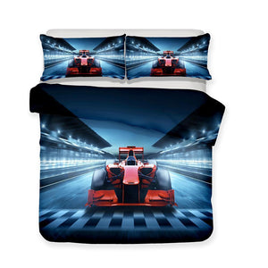 3 Pcs Bedding Sets 3d Racing Motorcycle Art Print All Size Art Print Duvet Cover Home Textile-Mr Koala (1414271336499)
