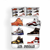 Air Jordan Printed Bedding Sets Duvet Cover Set (4261009358984)