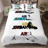 Air Jordan Printed Bedding Sets Duvet Cover Set (4261009653896)