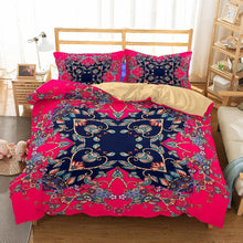 Bedroom Home Supplies Bohemian Theme Print Set 3 Piece Bedding Various Sizes Full Size-Mr Koala (1436289269811)