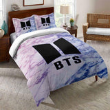 Bts Duvet Cover Set 3D Bedroom Christmas Bedding Sets (4368284582024)
