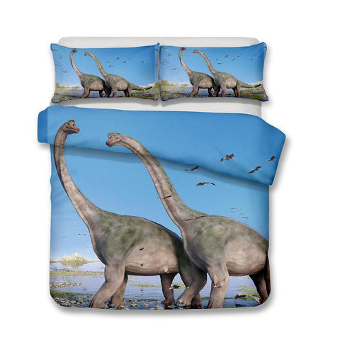 Dinosaurs Themes Prints Bedrooms Home Supplies Bedding Quilt Cover Bedsets Various Sizes-Mr Koala