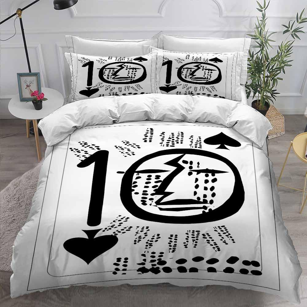 Fashion Poker Theme Printed Home Bedding Beds Set for Women 2020-Kitkae-Kitkae-Koalabedding (4578283421832)
