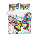 Painting Pattern Butterfly Bedding Duvet Cover Sets for Kids Man Bedroom