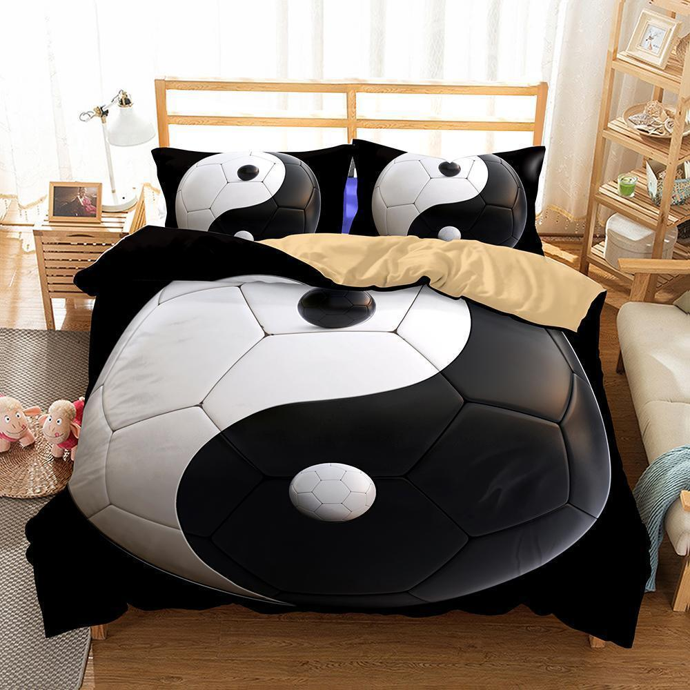 Yin And Yang Taiji Theme Printing Bedding Quilt Bedroom Home Decoration More-Kitkae-Kitkae-Koalabedding (1425757601843)