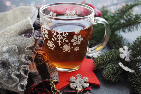 De-stress Christmas Holiday Herbal Tea
