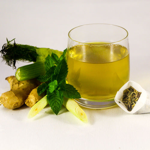 Gentle Digestion Tea | Fennel Lemongrass Ginger Peppermint Tea