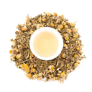 Relax and Sleep Tea | Valerian Chamomile Skullcap Herbal Tea