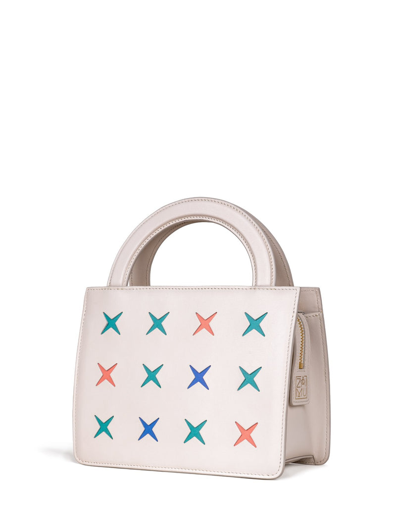 chic niche design handbag in vanilla