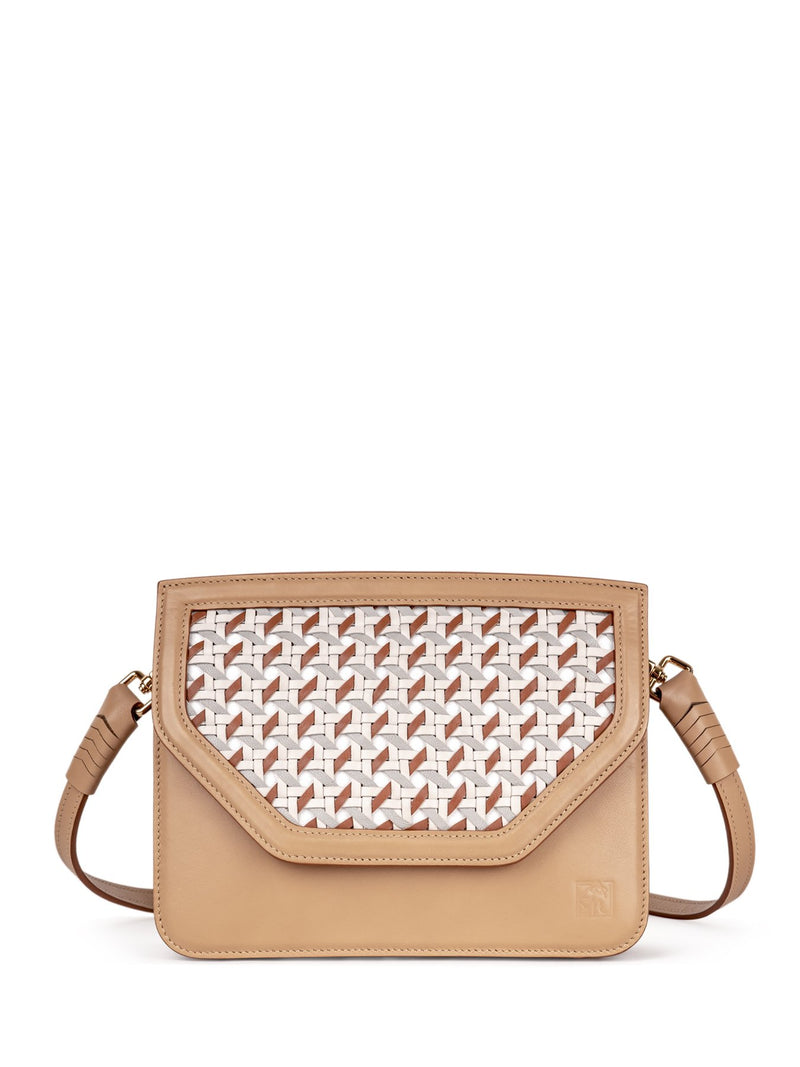 women's fashion crossbody handbag in brown