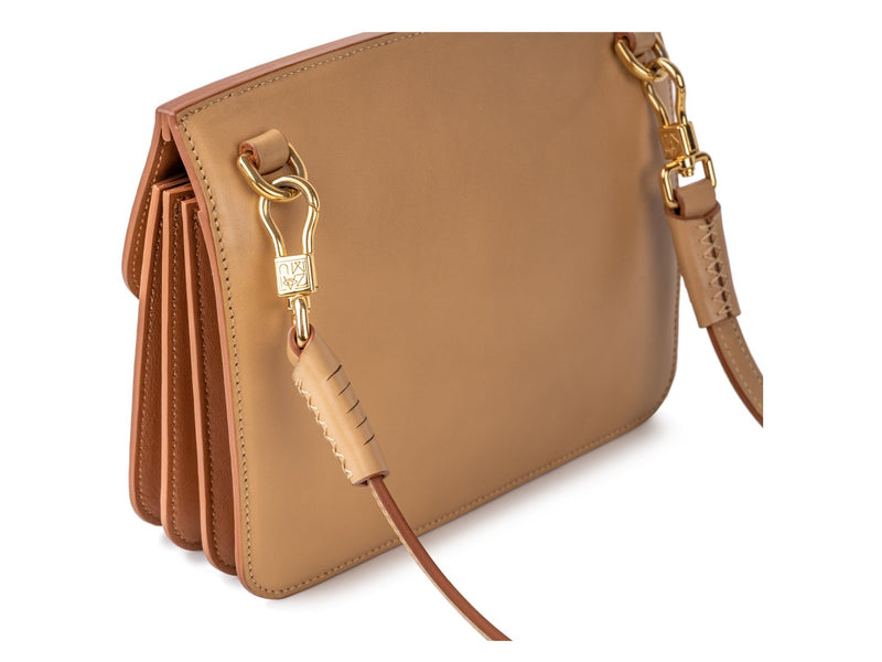 the most special handbag with 18k gold plated hardware