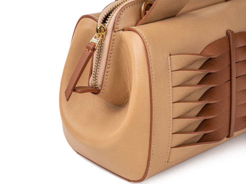 crossbody bag made of smooth calf leather