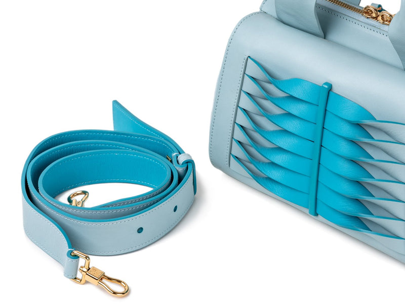 Adjustable and removable long crossbody strap