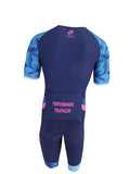 Champion System Performance Aero Tri Suit Rear View