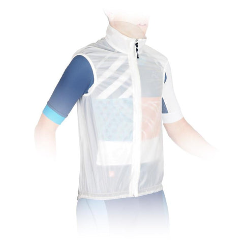 Seamless Clear Rain Vest