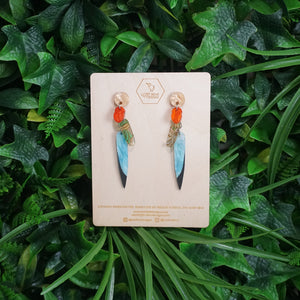 Kea Feather Earrings