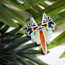 Load image into Gallery viewer, Parrot Feather Necklace