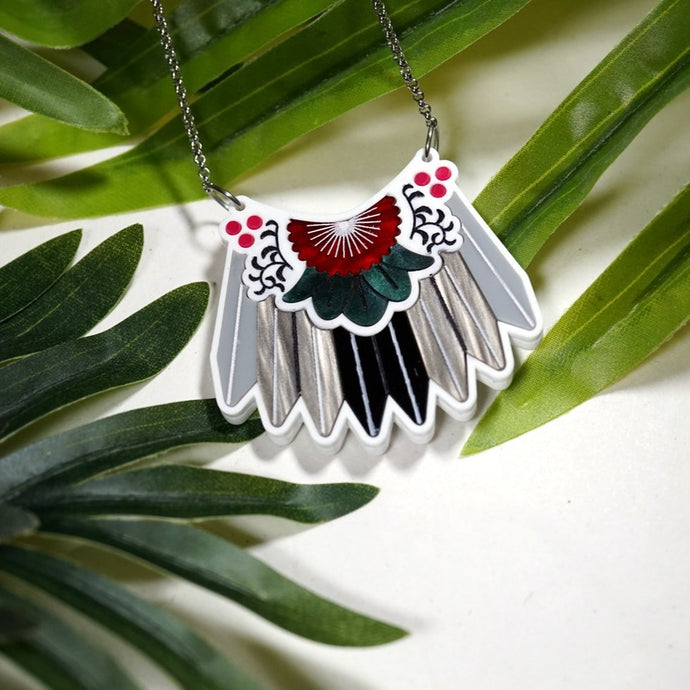 Piwakawaka Feather Necklace